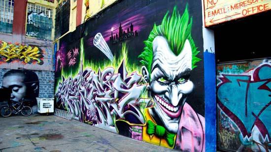 Места силы нью-йоркского стрит-арта