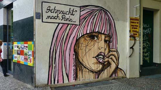Стрит-арт и альтернативные места Берлина